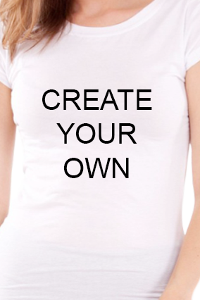 Create Your Own Girls White T-Shirt