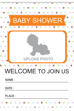 Join Us Baby Shower Invitation Card