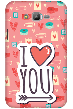 3D-Samsung Galaxy J7 Cute and Lovely Mobile Cover
