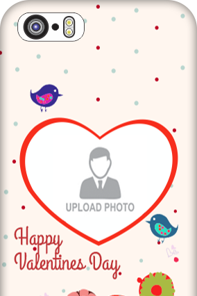 iPhone 5S Floral Tweets Valentine Day Mobile Cover