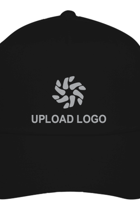 Logo Printed Black Cap