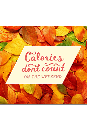 Custom Calorie Count Table Mat