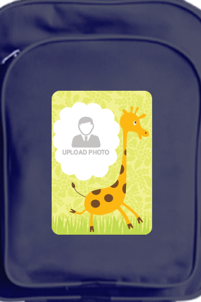 Customize Giraffe School Bag