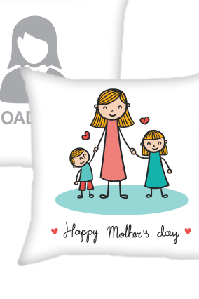 Happy Mother's Day Cushion Cover