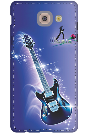 3D -  Music Flare Cover For Samsung Galaxy J7 Max