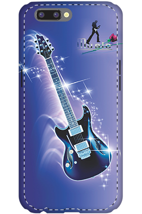3D - Oppo R10 Music Flare Mobile Cover