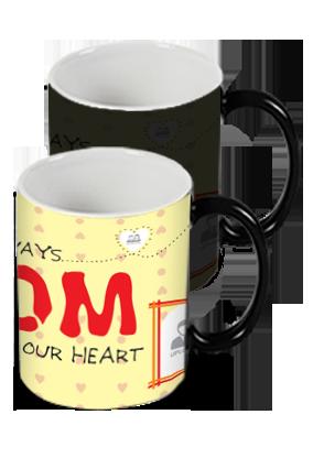 In Our Heart Black Magic Mug