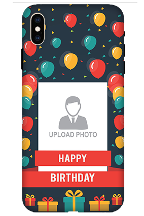 Apple iPhone XS Max Balloons Birthday Mobile Cover