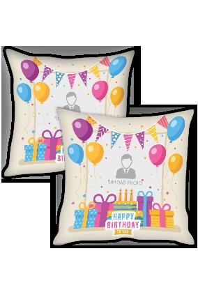 Happy Birthday Cushion Cover