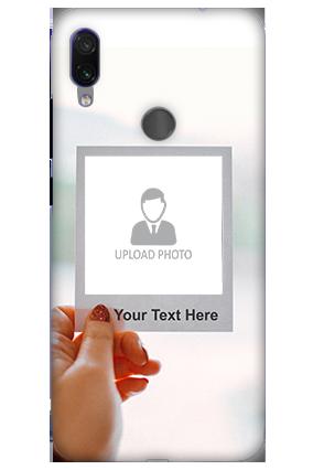 3D-Xiaomi Redmi Note 7 Pro Photo PostCard Personalized Mobile Cover