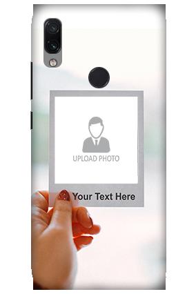 3D-Xiaomi Redmi Note 7 Photo PostCard Personalized Mobile Cover