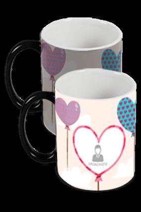 Happy Valentine's Day Black Magic Mug