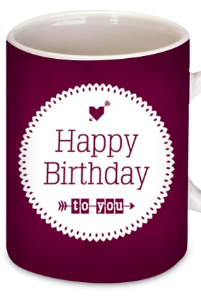 Birthday Wishes Coffee Mug