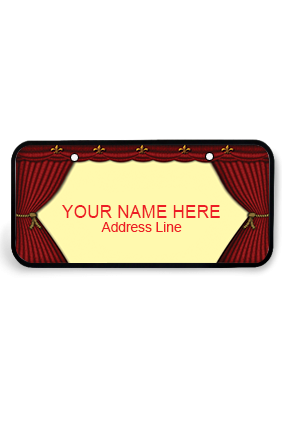 Personalized Numeric Wooden Nameplate