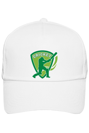 Batting White Cap