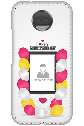 Customized 3D-Motorola Moto G5s Plus Birthday Greetings Mobile Cover