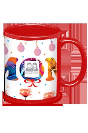 Best Mom Ever Red Patch Mug