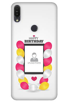 3D - Asus ZenFone Max Pro M1 Birthday Greetings Mobile Cover