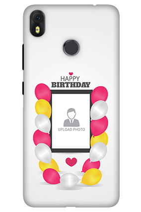 3D-Infinix Hot S3 Birthday Greetings Mobile Cover