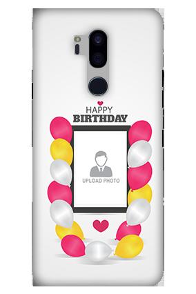 3D-LG G7 Plus ThinQ Birthday Greetings Mobile Cover