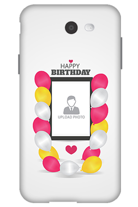 3D-Samsung Galaxy J7 Birthday Greetings Mobile Cover