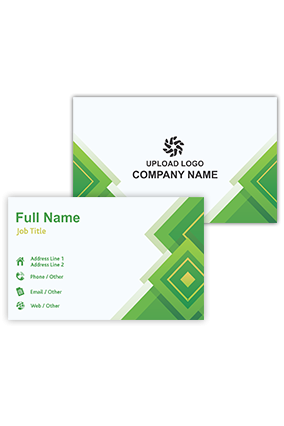 Gorgeous Green Personalized Information and Technology Visiting Card