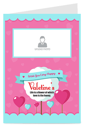 Beautiful Valentine's Day Greeting Card Valentine's Day Greeting Card