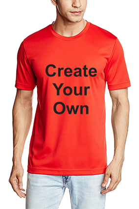 180GSM - Promotional Create Your Own Dry Cell Team ESS Red T-Shirt - 51226713
