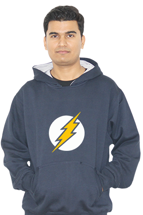 Thunder Bolt Full Sleeves Hoodie