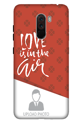 3D-Xiaomi Poco F1 Birthday Greetings Mobile Cover