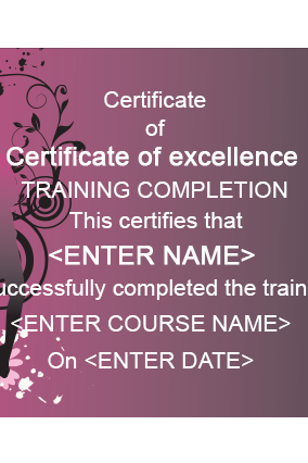 Beauty Salon And Spa Certificates Online in India with Custom Printing |  PrintLand