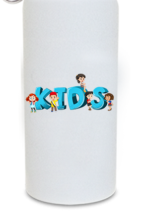 Cool Kids 600ml White Sipper