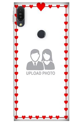 3D - Asus ZenFone Max Pro M1 Heart Valentine's Day Mobile Cover