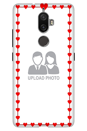 3D - Lenovo K8 Plus Heart Valentine's Day Mobile Cover