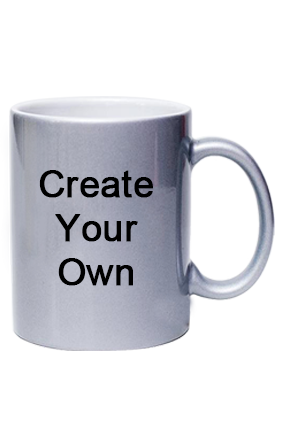 Promotional Silver Coffee Mug
