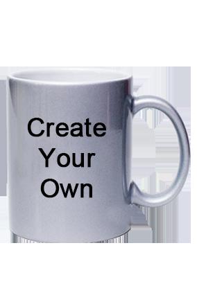 Promotional Silver Coffee Mug