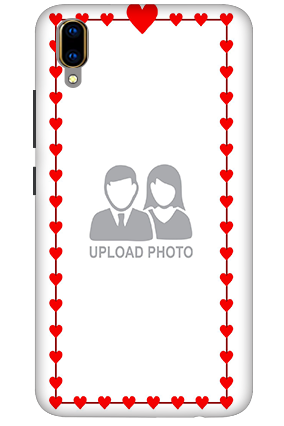 3D - Vivo V11 Pro Heart Valentine's Day Mobile Covers