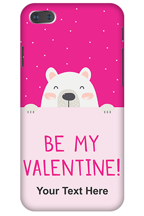 3D-IPhone 7 Plus Be My Valentine Customized Mobile Cover