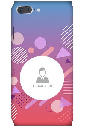3D - Apple iPhone 8 Plus Designer Shapes Plastic Mobile Cover