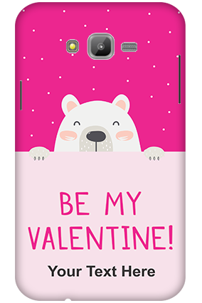 3D-Samsung Galaxy J7 Be My Valentine Customized Mobile Cover