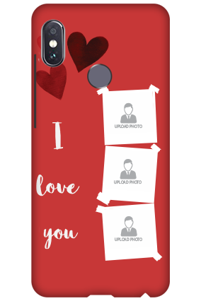 3D-Xiaomi Redmi Note 5 Pro Beautiful Hearts Customized Mobile Cover