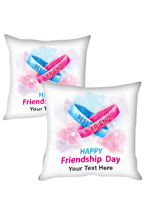 Friendship Bands for Personalized Friendship Cushion Cover