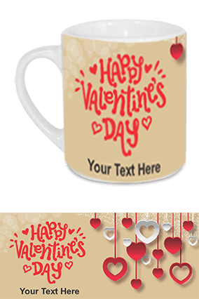 Beautiful Happy Valentine's Day Tea Mug