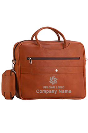 Executive Bag Leatherite Tan GE-1151