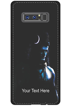Premium 3D-Samsung Galaxy Note 8 Lord Shiva Mobile Cover
