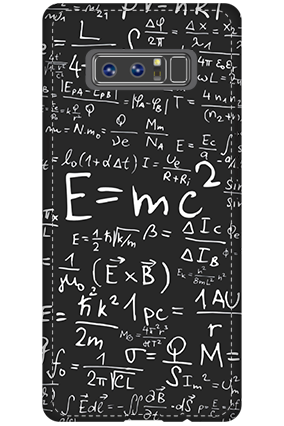 3D - Samsung Galaxy Note 8 Einstein Tribute Mobile Cover