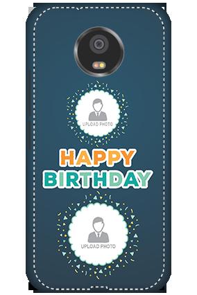 3D - Motorola Moto G5S Birthday Wishes Mobile Cover