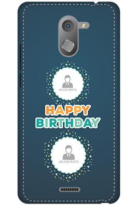 3D - Infinix Hot 4 Birthday Wishes Mobile Cover