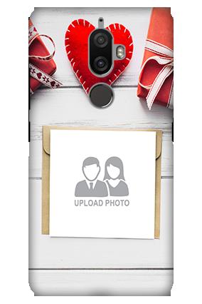 3D - Lenovo K8 Plus Decent handmade heart Mobile Cover