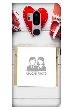 3D-LG G7 Plus ThinQ Decent Handmade Heart Mobile Cover